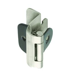 Amerock Double Demountable Hinge with 1/2 in. (13mm) Overlay - Satin Nickel