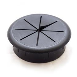 "Grommet / Medium Flexible Black 2-3/8"""