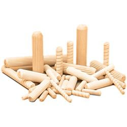 Dowel Pin Fluted Preglued 20,000/Bx