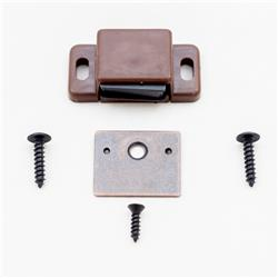 Single Magnet Catch Brown