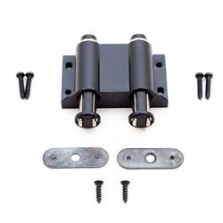 Touch Latch Magnetic Double Black
