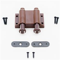 Touch Latch Magnetic Double Brown
