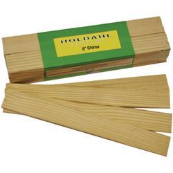 """Wood Shims 8"""" Bulk 120/box"""