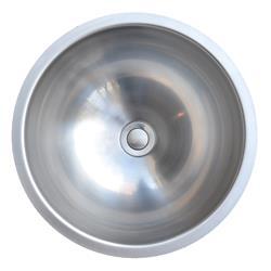 Karran UV-1515 Vanity Bowl Sink Stainless Steel ADA Compliant