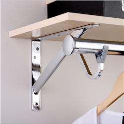 Closet Rod and Shelf Support and Accessories
