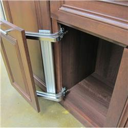 Lateral Opening Drawer Hinge
