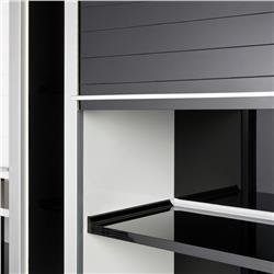 Rehau Vetro-Line Glass Tambour Door System