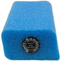 """SLC Blue Soft Sander 2-7/16"""" x 1-1/4"""""""