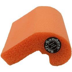"SLC Orange Soft Sander 3"" x 2-1/4"""