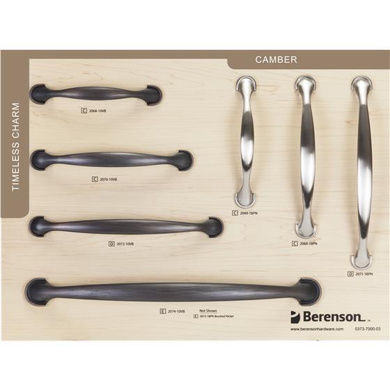 Berenson Hillcrest Sample Board