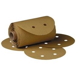 3M 216U DISC with 5 Holes / Aluminum Oxide PSA / 80 Grit to 320 Grit
