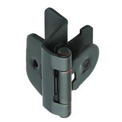 Amerock Double Demountable Hinge with 1/4 in. (6mm) Overlay - Oil-Rubbed Bronze