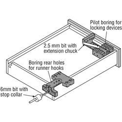 Blum Drill Bit High Speed Steel