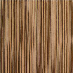 Zebra Wood Straight Grain W/Hpl Back