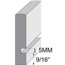 Wood Drawer Blank W/5mm Dado Solid Maple