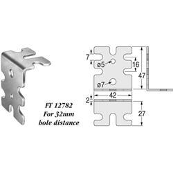 Connecting Angle Zinc