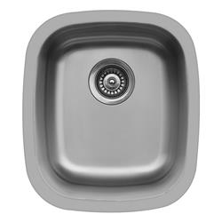 Karran E-315 Medium Bar Sink Stainless Steel