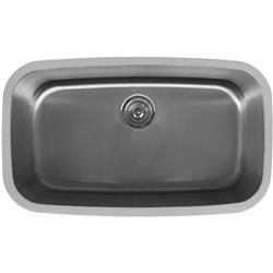 Karran E-340 X-Large Single Bowl Sink Stainless Steel