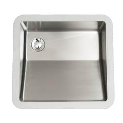Karran E-505 Vanity Bowl Sink Stainless Steel