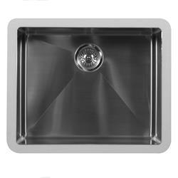 Karran E-520 Single Bowl Sink Stainless Steel