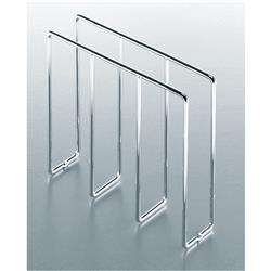 Kessebohmer Floor Mounted Baker's Tray Divider Chrome