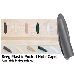 Kreg Plastic Pocket Hole Caps Almond