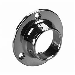 KV Closet Rod Flange Closed Chrome
