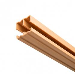 KV P2421 WH 48 Plastic Track/Guide For 1/2 Doors WH