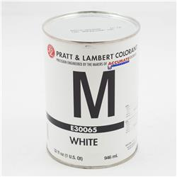 White M Water Base Colorant