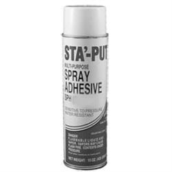 Red Sta-Put Contact Adhesive