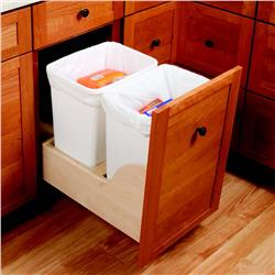 "Blum 18"" Opening Tandem Waste/Recycle Set"
