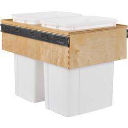 Century Cascade Waste System Double Bin Top Mount 15W x 17-7/8H x 22-1/2
