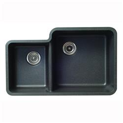Karran Q-55 Quartz Large and Small Bowl Sink
