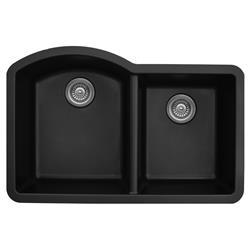 Karran QU-610 Quartz Large/Small Bowl Sink Multiple Colors