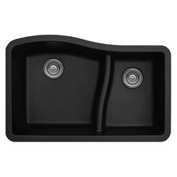 Karran QU-630 Quartz Large/Small Bowl Sink Multiple Colors