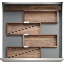 "Kessebohmer - 12"" Drawer Sets / The Frankfurt / Birch or Walnut"