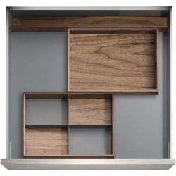 """Kessebohmer - 12"""" Drawer Sets / The Sydney / Birch or Walnut"""