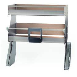"""Kessebohmer iMove - Frameless Cabinet / Double Tray / 21""""W / Available in 4 colors"""