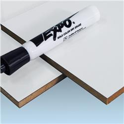 2 Sided White Markerboard 1/4 49 x 97
