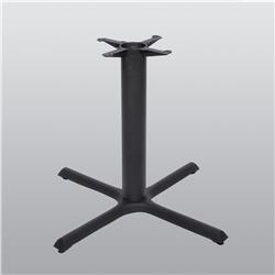 Table Base X Style Black 36 x 36 x 28H