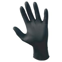 Raven 6Mil Black Nitrile Gloves (Sizes Small to XX-Large)