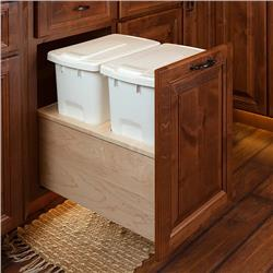 Under-Counter Trash Can Systems