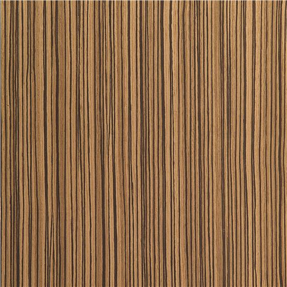 Zebra Wood Straight Grain With Hpl Back 48 X 96 Holdahl