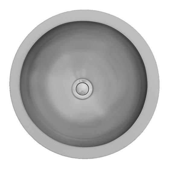 Karran E-305 Vanity Bowl Sink Stainless