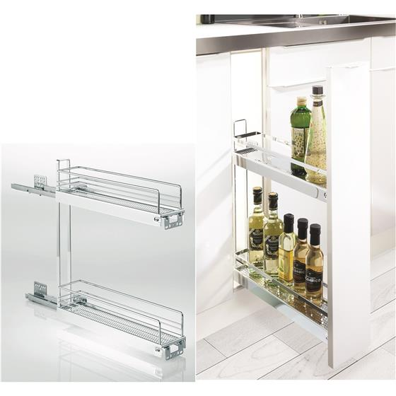 Kessebohmer 2 Tier Base Cabinet Pullout