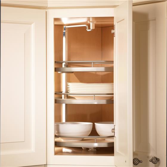 "Kessebohmer Twister Corner Cabinet Lazy Susan 38"" to 42-1/4"""