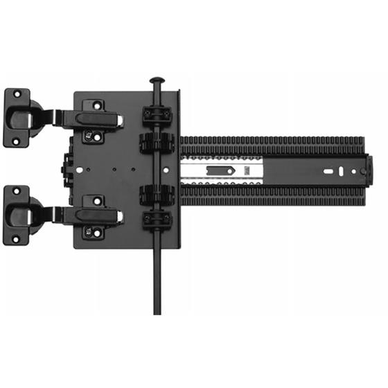 KV 8092 Pocket Door System H.D. with Plate Black 16 Inch  sc 1 st  Holdahl Company : kv cabinet hinges - Cheerinfomania.Com