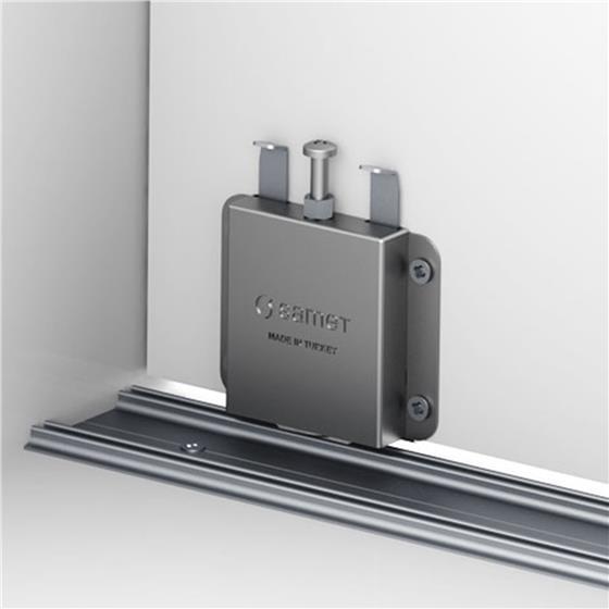 Samet Smt 75t Adjustable Sliding Door Track System 165 Lb Capacity Holdahl Company Inc